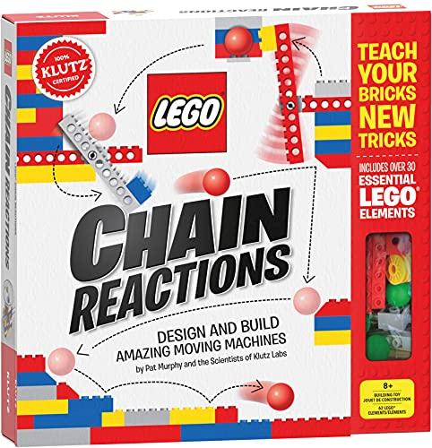 LEGO Chain Reactions (Klutz Science/STEM Activity Kit), 9' Length x...