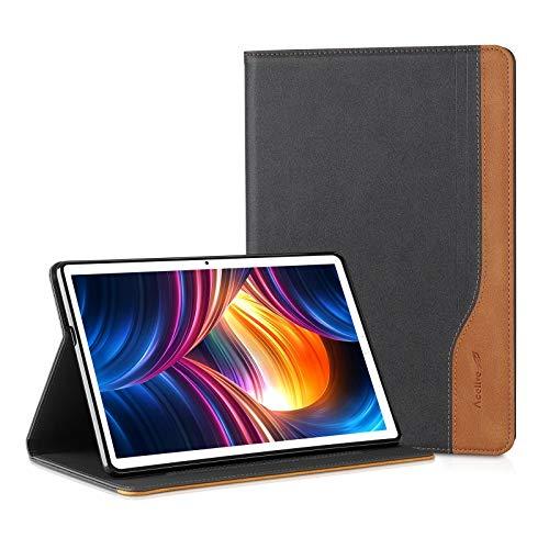 Acelive Hülle Hülle Schutzhülle für Huawei Mediapad M5 Lite 10 10.1 Tablet mit Auto Schlaf/Wach Ständerfunktion