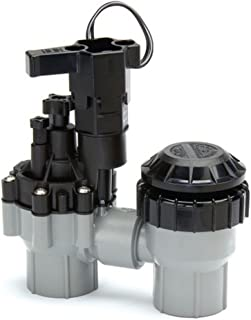 Rainbird Plastic ASVF Series Electric Valve with Flow Control and Atmospheric Backflow Preventor, 3/4