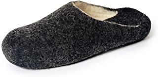 Gewenst Warm Evenings Indoor House Slippers for Men Toddlers Kids US 10-13 Handmade 100% Wool