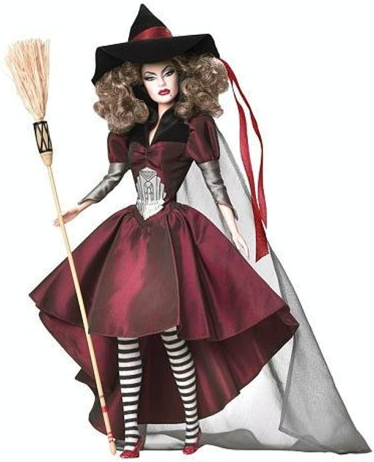 Exclusive Musical Barbie Collector Silver Label Wizard of Oz Wicked Witch of the East Barbie Doll