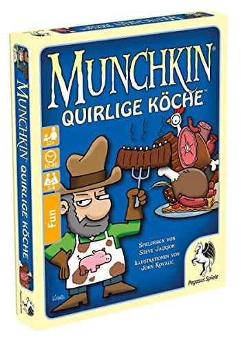 Pegasus spel 17019G - Munchkin: Quirlige kok