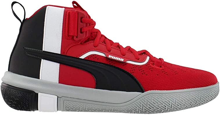 PUMA Mens Legacy Mm Lace Up Basketball Sneakers Shoes Casual - Red