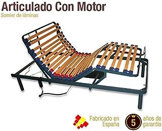 Naturconfort Somier Articulado Eléctrico Madera 135x190
