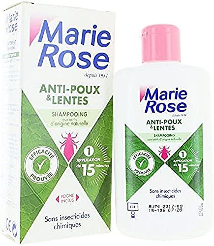 MARIE ROSE Shampoing Anti Poux/Lentes Format 125 ml