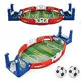 ZJJX Mini futbolín de mesa, balón de escritorio, juguete de dos dedos, juguete interactivo para niños
