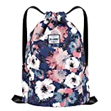 Drawstring Sports Backpack Lightweight Gym Yoga Sackpack Shoulder Rucksack Casual Outdoor Daypack...
