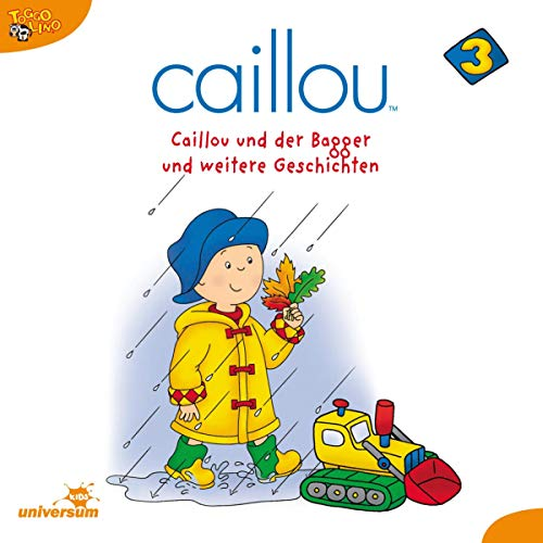 Caillou und der Bagger Titelbild