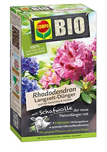 Bio Engrais pour rhododendron de longue durée, avec laine de mouton
