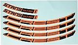 Notubes ZTR Crest MK3Contenido: 4Skin para una Llanta my2017Pegatinas Juego, Unisex, Sticker ZTR Crest MK3 Inhalt: 4 Aufkleber für eine Felge MY2017, Naranja, 29 Zoll