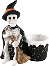 AMITD Halloween decoraties heks schedel asbak potl...