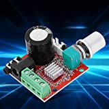 PAM8610 3.5MM Stereo Pure Sound 2200uF Amplificador de volumen Módulo de potenciómetro Mini tamaño 10-15W DC 8V-12V Placa de amplificador de audio digital para mini altavoces