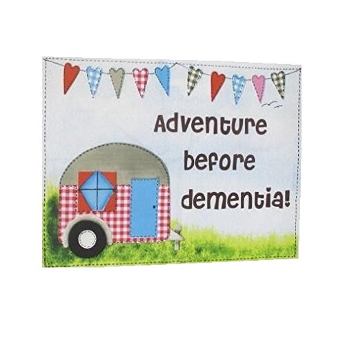 Stock4u Caravan Tea Towel Adventure Before Dementia