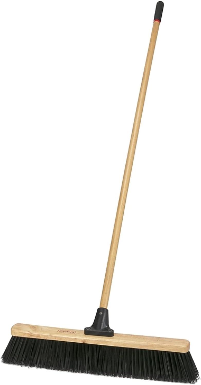 Laitner Brush 1435A Coarse Al sold out. Jobsite Bru Surprise price Broom 24-Inch Push Width