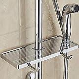 PPuujia Soporte de ducha para champú y loción para baño, soporte para barra...