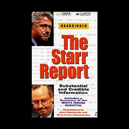 The Starr Report audiobook cover art