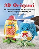 3D Origami: 15 Cute Creatures to Make Using Modular Paper Triangles