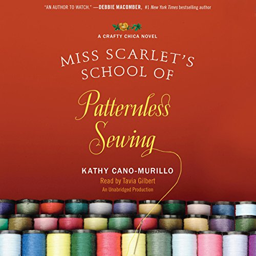 Miss Scarlet's School of Patternless Sewing audiobook cover art