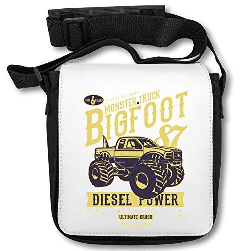 Monster Truck Bogfoot Diesel Power schoudertas
