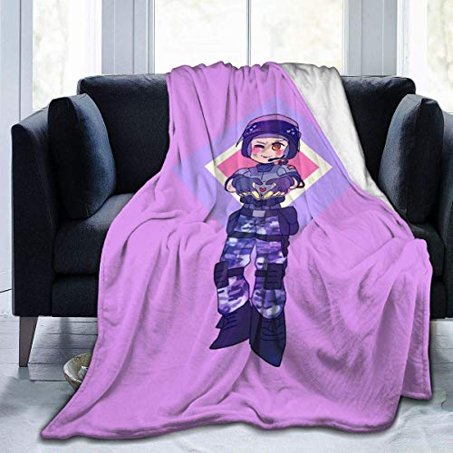 Fleece Blanket Rainbow Six Siege Coperta Da Tiro Soft Bed Luxury Divano Dormitorio Stampato Inverno Caldo Auto Personalizzata Leggera Coperta In Pile Accogliente Hotel Durevole 153X204cm