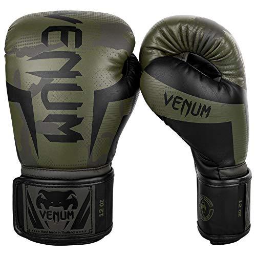 Venum Elite Boxing Gloves - Khaki camo - 14 Oz