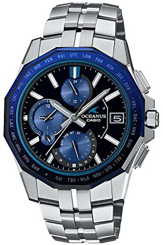 [カシオ] 腕時計 オシアナス Manta Bluetooth 搭載 電波ソーラー OCW-S6000-1AJF メンズ シルバー