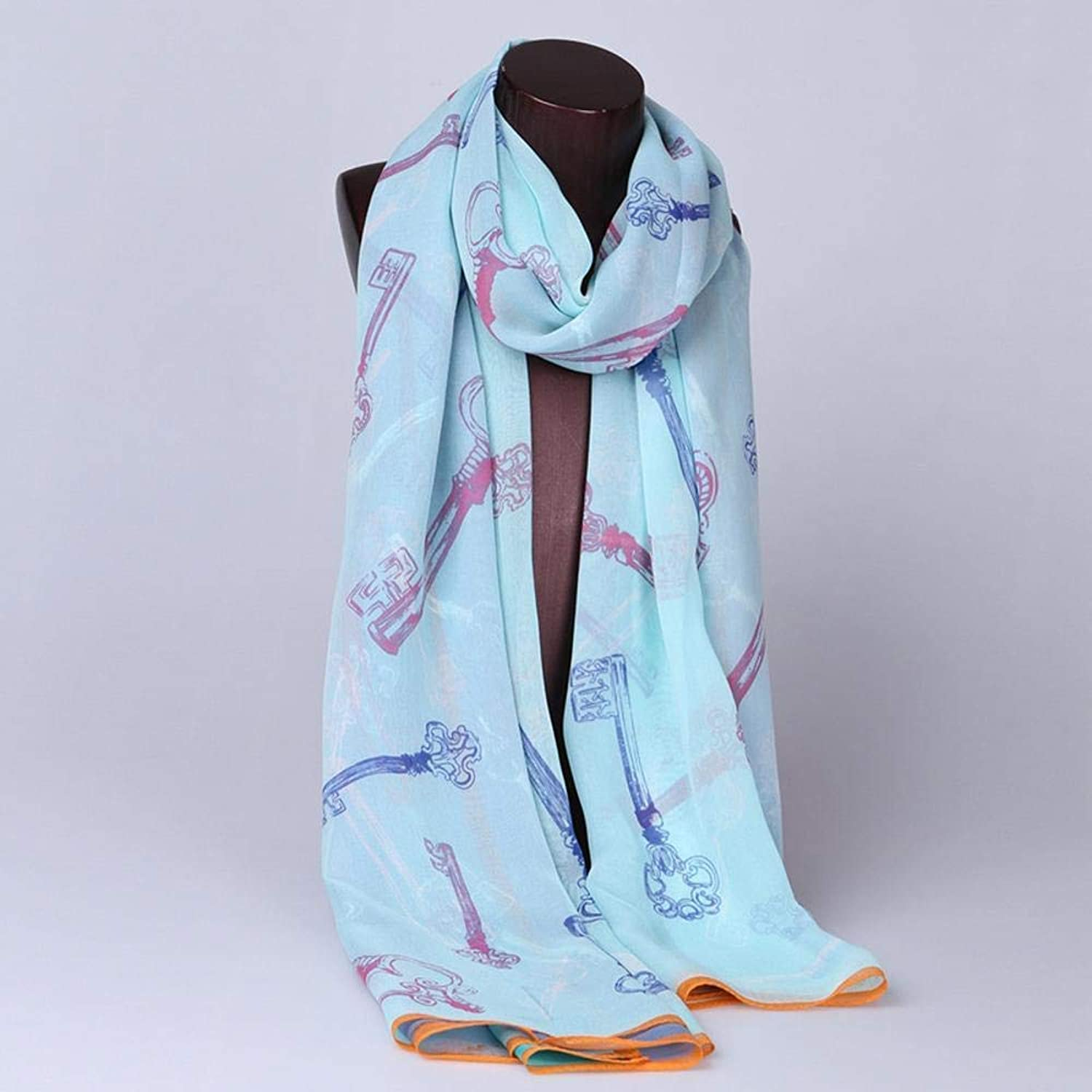 Paioup Ladies Silk Poncho Sunscreen 100% silk long scarf travel silk shawl Perfectly expresses unique temperament