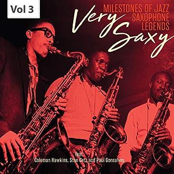 Milestones of Jazz Saxophone Legends: Very Saxy, Vol. 3