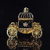 weichuang Caja de joyería Caja de la joyería Hermosa del Carro del Arte del Arte de Europa Joyero (Color : A)