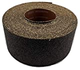 Sungold Abrasives 30516 Aluminum Oxide 80 Grit Rolls For Drum Sanders, 3' Wide by 35 Feet