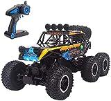 Bck Alta velocidad Racing Buggy 1/10 pies grandes 4WD Off Road Hobby RC eléctricos Fast Rock Crawler Monster Truck, 2,4 GHz de radio control del vehículo mejor juguete de regalo gigante del coche de R