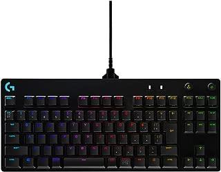 Logicool G PRO X ゲーミングキーボード テンキーレス G-PKB-002 ブラック クリッキースイッチ 日本語配列 RGB 着脱式ケーブル 国内正規品 2年間メーカー保証
