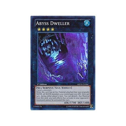YU-GI-OH! - Abyss Dweller (ABYR-EN084) - Abyss Rising - 1st Edition - Super Rare