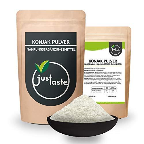 2 x 100 g Konjak Pulver | Glucomannan | natürliches Pulver | vegan | Low Carb