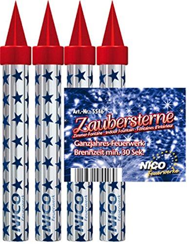 Zaubersterne 4er BTL. 5546 Zimmerfontaene ZAUBERSTERNE 4ER 5546
