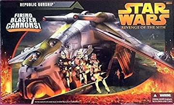 Star Wars Episode 3 REPUBLIC GUNSHIP Revenge of the Sith by Hasbro