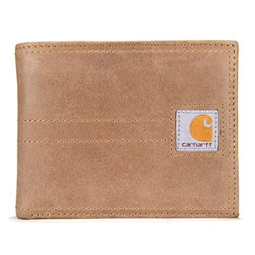 Carhartt Legacy Passcase Wallet, Brown, One Size