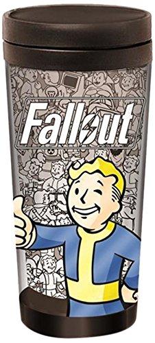 Fallout Vault Boy 16oz Travel Mug
