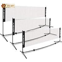 MaxKare 14-Feet Portable Badminton/Volleyball Net Set