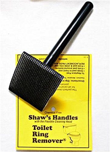 Toilet Ring Remover - Shaw's Handle Flexible Cleaning Tool