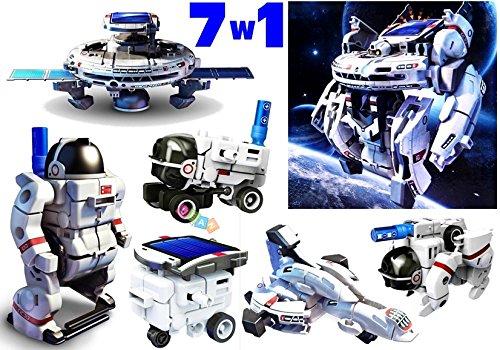 LEAN Spazio Robot Kit Solare 7 in 1 Posto UFO