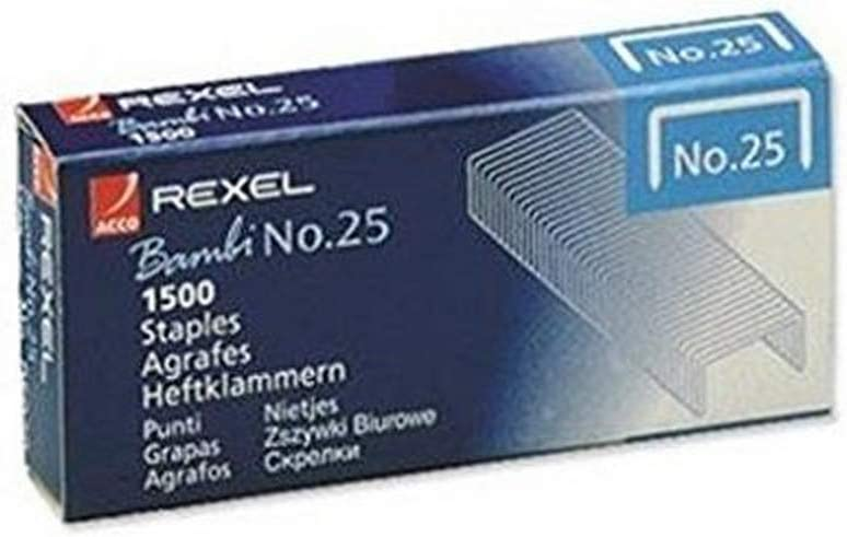 REXEL Staples NO25 05020 Bambi Max 51% favorite OFF PK1500