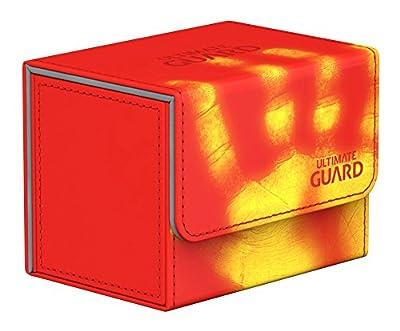 Ultimate Guard Deck Box: Sidewinder 80+ ChromiaSkin Red