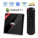 H96 Pro Plus Android 7.1 TV Box 3GB RAM + 32GB ROM with Amlogic S912 Octa Core CPU Support 2.4GHz/5GHz Dual WiFi/ 1000M LAN/SPDIF/Bluetooth 4.1 Smart TV Box