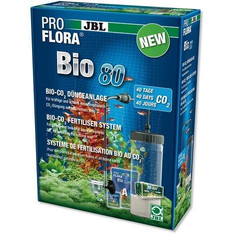 JBL- ProFlora Bio80 Bio-CO2-Düngeanlage für Aquarien von 30-80 l