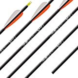 Easton Gamegetter 340 Arrow Cut to 30 Inches 1/2 Dozen