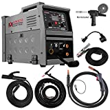 Amico MIG-140GS, Multi-function 140-Amp MIG/MAG/Flux-cored/Lift-TIG/Stick Arc DC Inverter Welder, Can weld all metals, Spool gun weld aluminum.