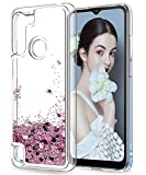 LeYi for Motorola Moto G8 Power Lite Case, Girl Clear