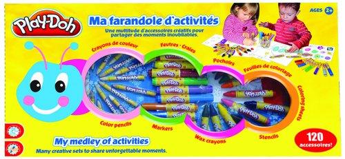 Play Doh - CPDO032 - Loisir Créatif - Ma Farandole d'activités - 120 Pièces