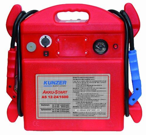 Kunzer AKKU-Start, tragbar, 12V 4740/1600A, 24V 2370/800A
